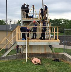 Confined Spaces Rescue Training