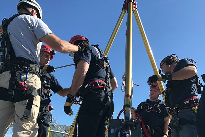 Confined Space Entry & Standby | American Rescue Concepts